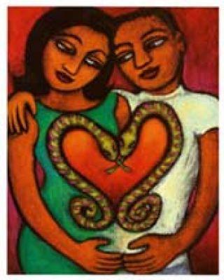 لازمه وجود مادینه و نرینه روان(آنیما و آنیموس) در کنار یکدیگر