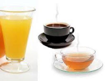 نکته شماره ۱- چای ، آبمیوه ، قهوه