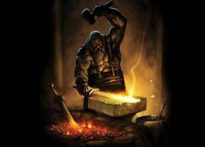 هفایستوس خدای کار ، صنعتگر ، سازنده ، مبتکر ، تنها ، هویت گمشده بدون کار